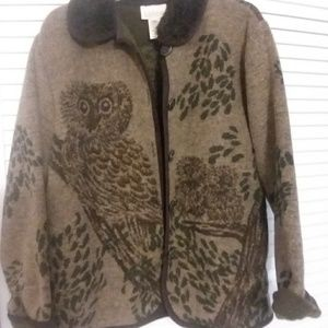 Owl jacket...so cute and cozy!!